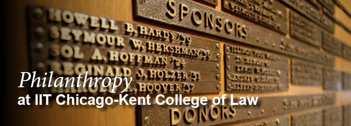 Philanthropy at Chicago-Kent